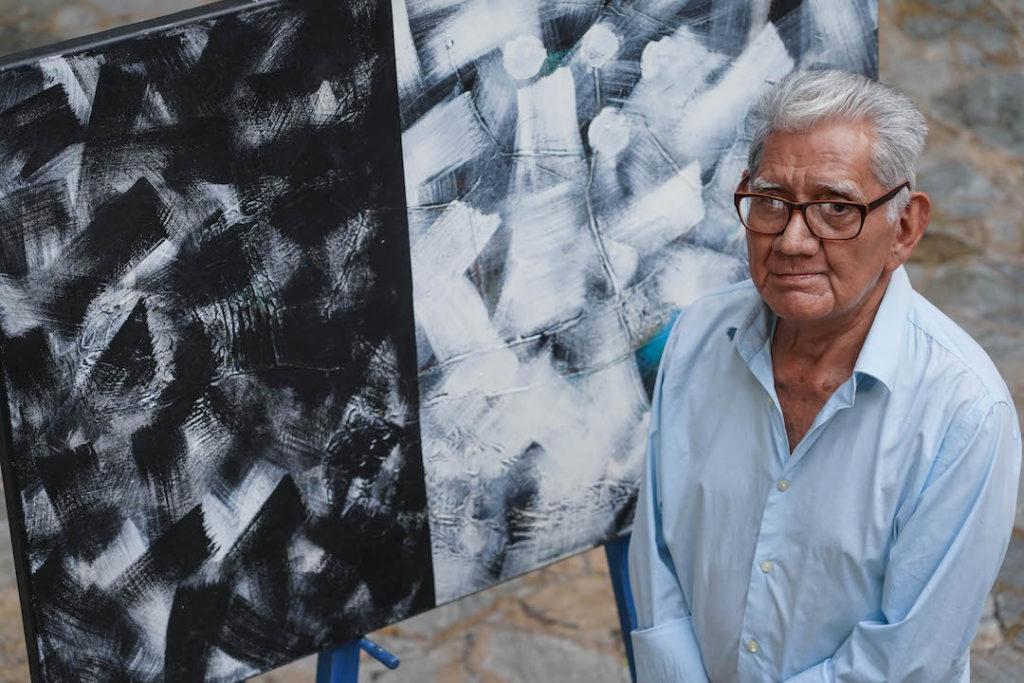 Pintor salvadoreño Armando Solís