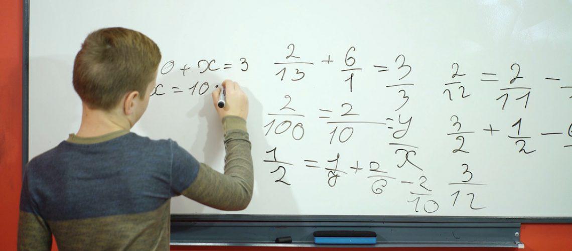 matemáticas televisión